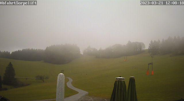 Webcam Sundern / Abfahrt Sorpelift/Flutlichthang